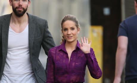 'Downton Abbey' Star Joanne Froggatt: Jimmy Kimmel Live Appearance