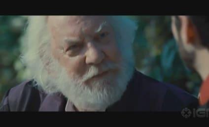 New Hunger Games Clip: Seneca & Snow