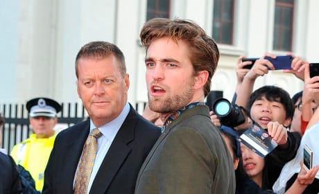 Robert Pattinson on Breaking Dawn Tour