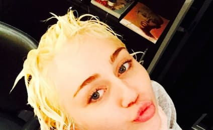 Miley Cyrus Hearts Bleach, Goes Blonde