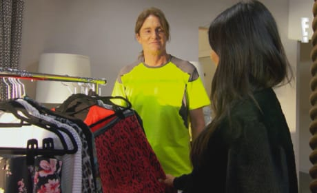 Bruce Jenner to Kim Kardashian: I Stole Your Clothes!