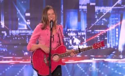 Olivia Rox Rocks on America's Got Talent, Covers Justin Bieber