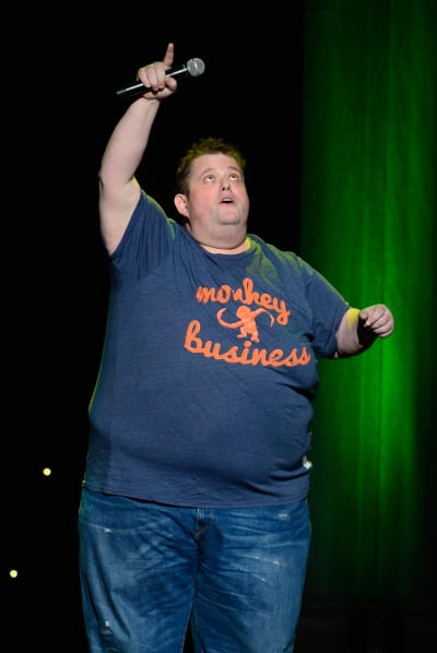 Ralphie May on Stage