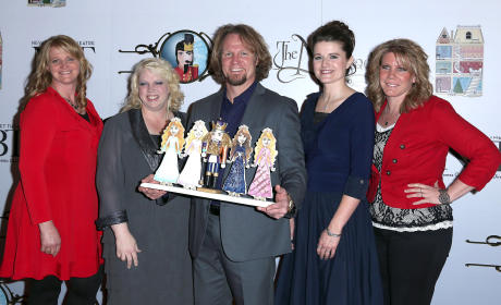 Sister Wives Stars at 'The Nutcracker' Ballet in Las Vegas