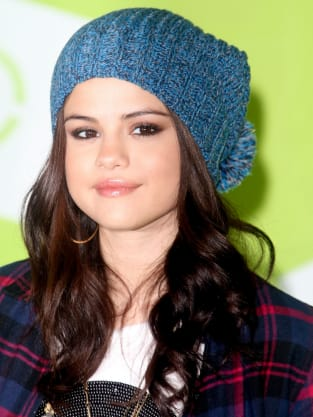 Selena Gomez with a Hat