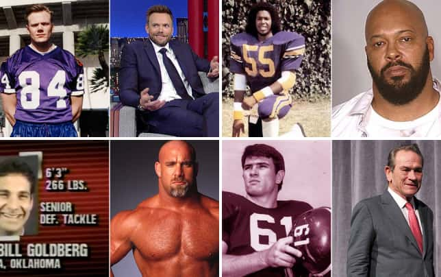 Celebrities who played college football joel mchale