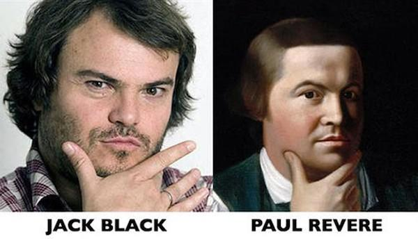 Jack Black and Paul Revere