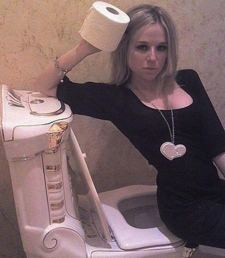 Toilet Paper = SO SEDUCTIVE