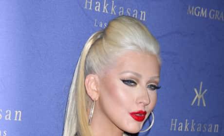 Christina Aguilera Butt Implant Photo