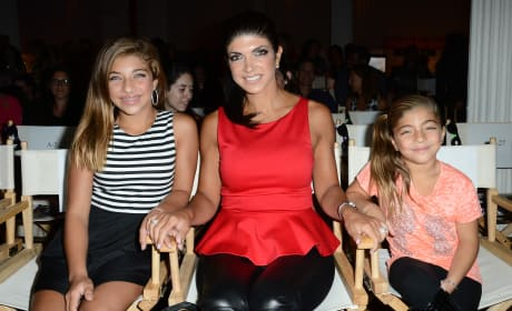 Teresa Giudice and Daughters