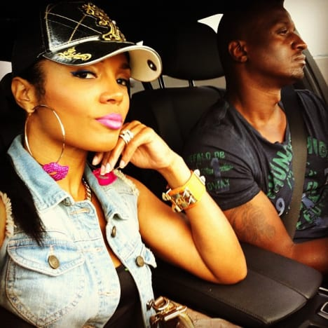 Rasheeda with Kirk