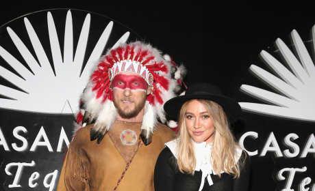 Hilary Duff Jason Walsh Halloween pic