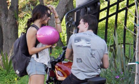 Vanessa Hudgens and Josh Hutcherson
