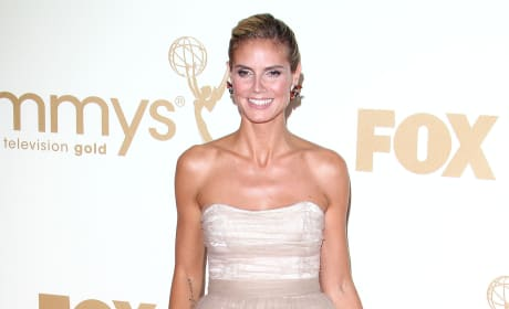 Who looked hotter at the Emmys: Heidi or Kyle?