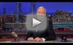 David Letterman Says Thank You