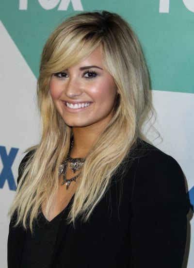 Demi Lovato for The X Factor
