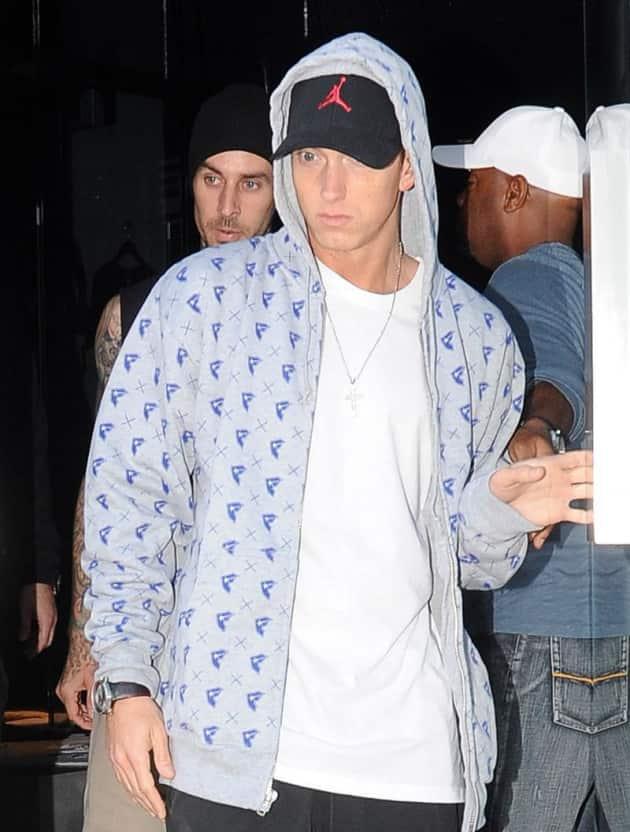 Eminem and Barker