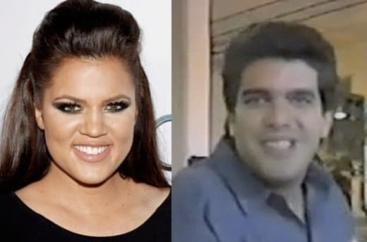 Khloe and Alex Roldan