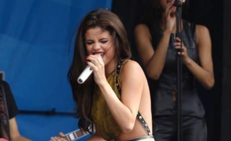Selena Gomez in Boston