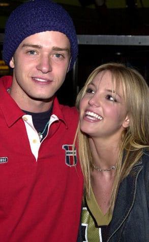 Britney and Justin Timberlake