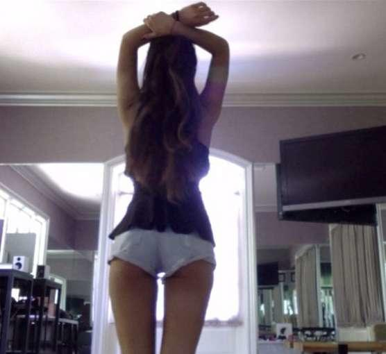 Ariana Grande From Behind