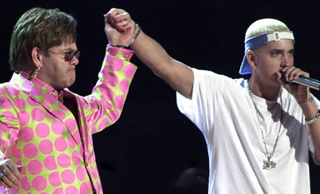 Elton John and Eminem