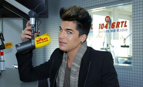 Adam Lambert on the Radio