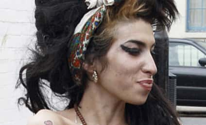Amy Winehouse Hospitalized With Exhaustion