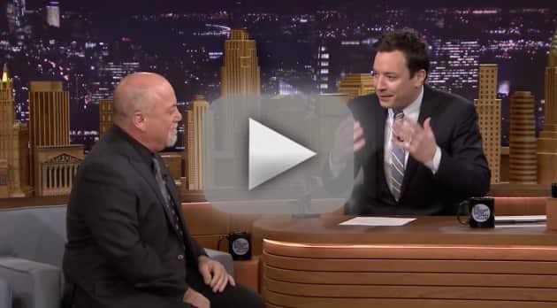 Jimmy Fallon and Billy Joel Duet