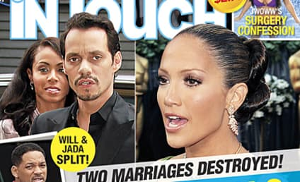 Did Will Smith Walk in on Jada and Marc Anthony?!?
