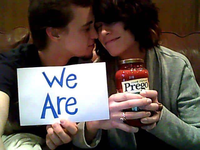 We're Prego!