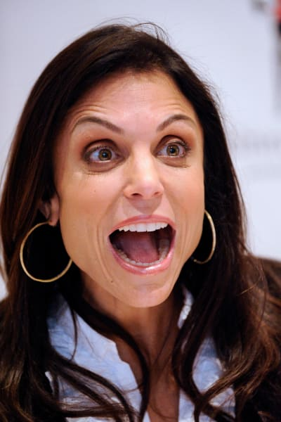 Excited Bethenny