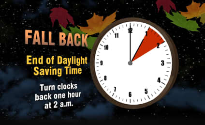 Daylight Saving Time 2015: IT'S OVER (Almost)!!!