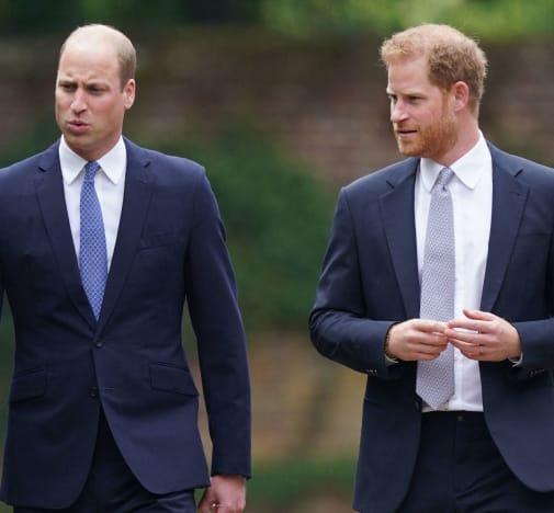 Harry and William