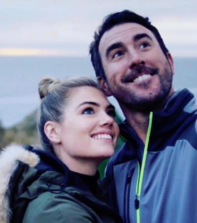 Kate Upton and Justin Verlander, Selfie