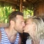 Julianne Hough and Brooks Laich Kiss on Their Honeymoon