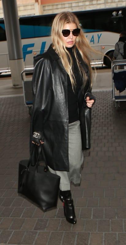 Fergie Takes Flight