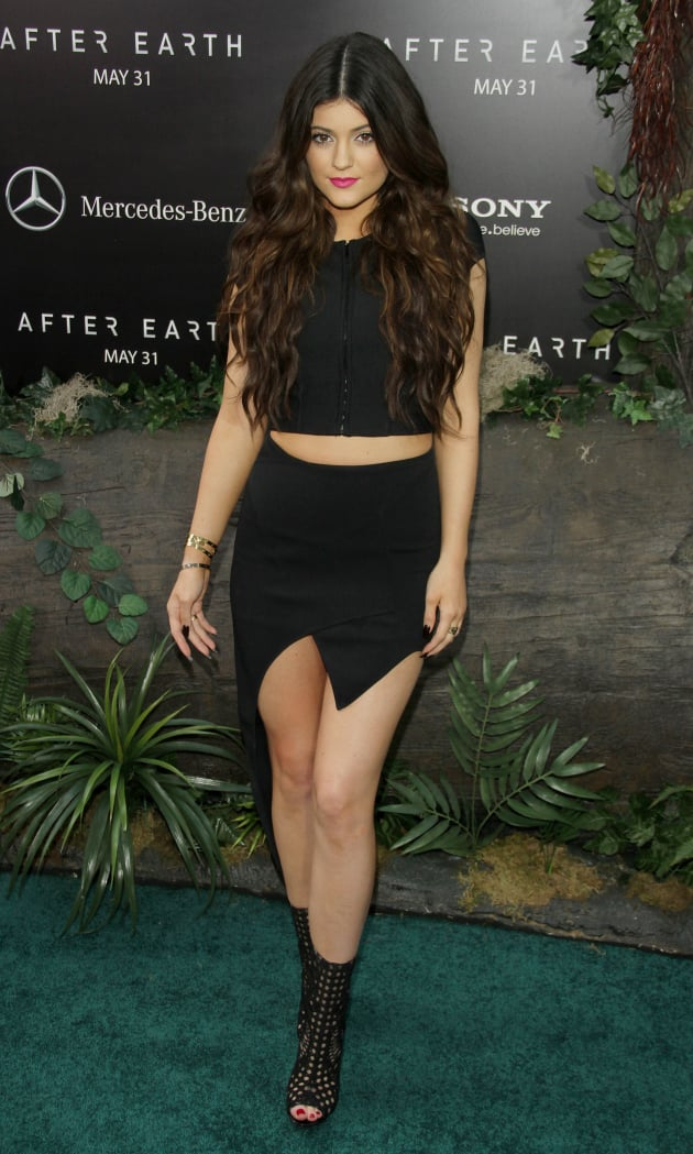 Kylie Jenner at After Earth Premiere