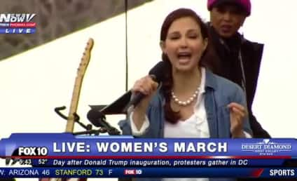 "Ashley Judd: Watch, React to Her ""Nasty Woman"" Poem!"