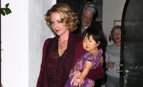 Heigl and Baby
