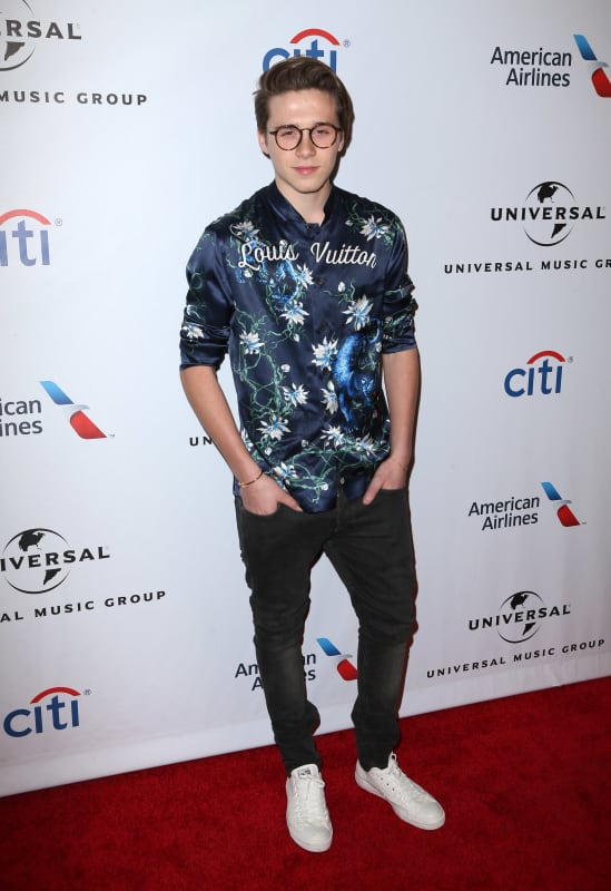 Brooklyn Beckham: Universal Music Group's 2016 GRAMMY after party