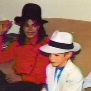 Wade Robson and Michael Jackson