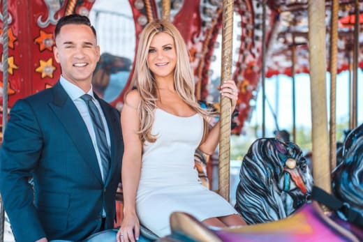 "Mike ""The Situation"" Sorrentino & Lauren Pesce"
