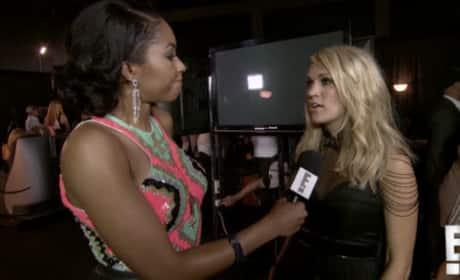 Carrie Underwood Talks Motherhood: WATCH!!!
