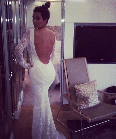 Kim Kardashian Wedding Gown?