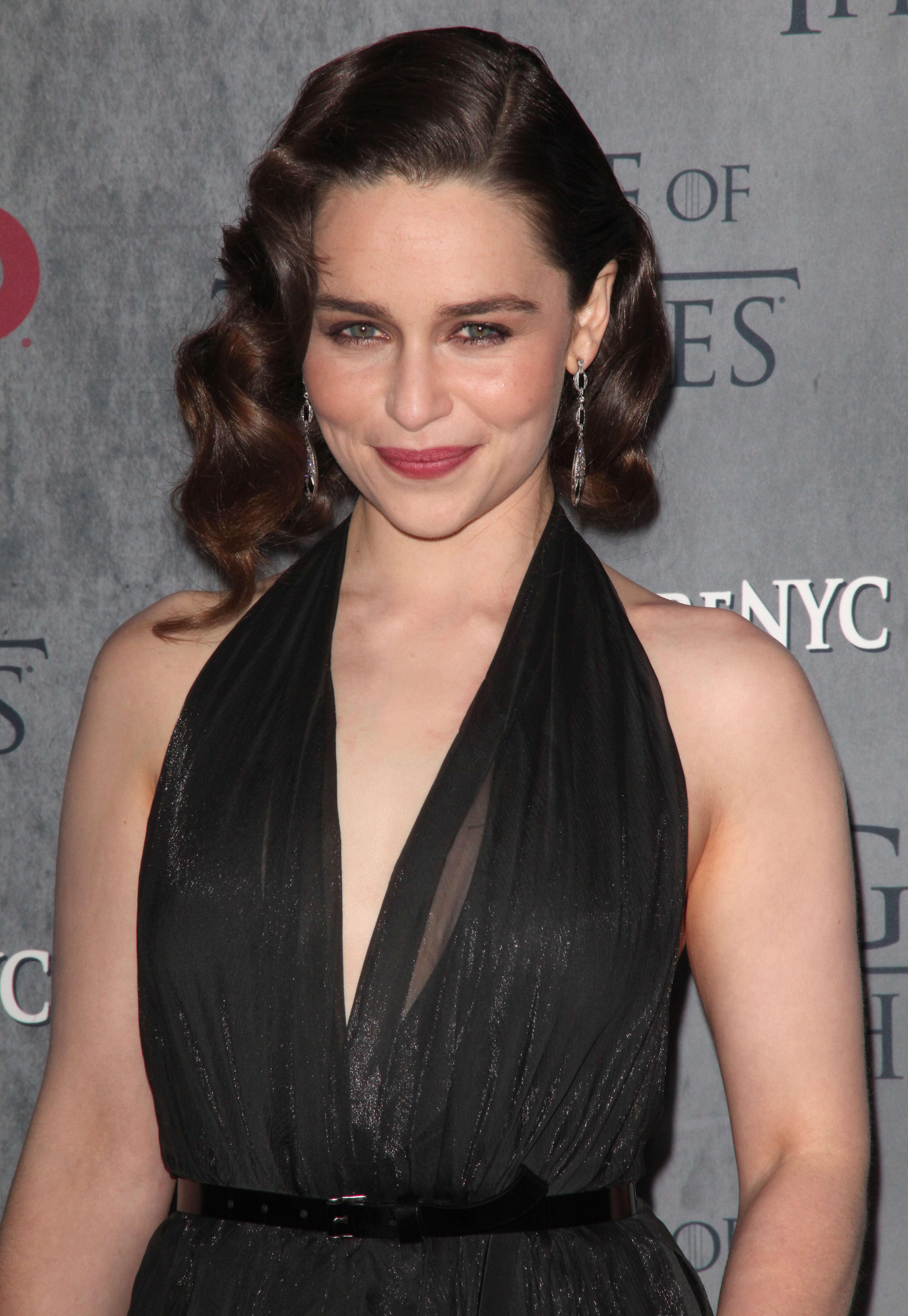 Emilia Clarke jimmy kimmel