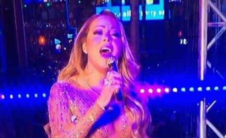 Mariah Carey on New Year's Eve