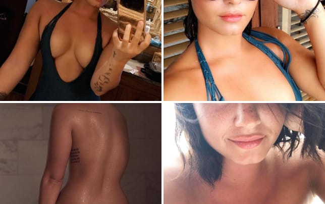 Seems Demi lovato nude in young year