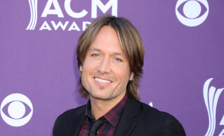 Keith Urban on the Red Carpet