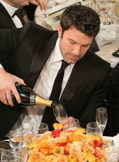 Ben Affleck Boozing